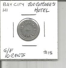 (L) Michigan Trade Token G/F 5 Cents #2 Buster Brown's Smoke Shop Birch Run, Mi