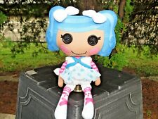 Lalaloopsy Blue Hair Mittens Plush Stuffed Doll SO CUTE LOW PRICE