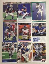 NEW YORK GIANTS 100 Different Card Team Lot MANNING SIMMS TAYLOR  + 1988-2015