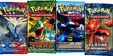 ① 4 BOOSTERS de CARTES POKEMON Neuf Aucun double en FRANCAIS (Lot N° AAV)