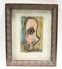 """Alexander Gore Art Oil Painting """"Big Surprise"""" Framed Signed 2012"""