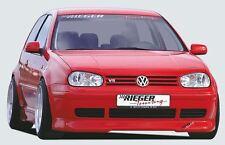 Rieger Front Becquet Lèvre Noir Mat Pour VW Golf 4 3-porte/5-porte/Variant