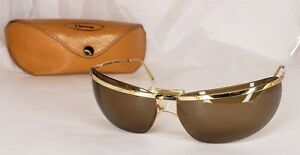 Vintage Orma Sol Amor Sunglasses Gold Made In France with Case RARE
