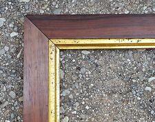 c1860 Excellent Large American Victorian Rosewood Sampler Print Antique Frame
