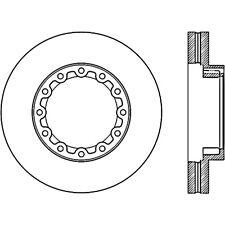 Disc Brake Rotor-C-TEK Standard Rear fits 12-14 Mitsubishi Fuso Canter FE160