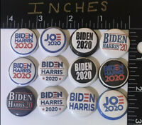 2020 HARRIS Biden Joe President Campaign Pin set Pins One Inch 12 Button 20 Vote