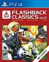 Atari Flashback Classics Vol. 2 (Sony PlayStation 4, 2016) BRAND NEW