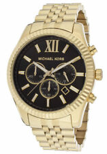 Michael Kors MK8286 Lexington Gold Tone Chronograph Mens Watch