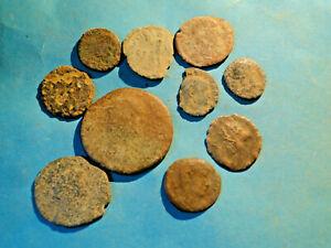 Job Lot of Roman Bronze Coins bought at Boot Fair
