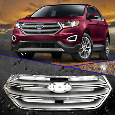 2015 2018 Ford Edge Front Chrome Grill Factory Style Grille Sport Version
