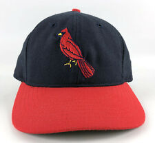 St. Louis Cardinals Roman Pro Fitted Hat 7 1/8 - Navy Blue Red Vintage Throwback