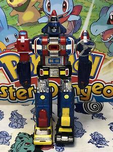 "1982 Bandai Voltron 1 Matchbox 6"" Toy Robot Dairugger XV GB-73 Chogokin Popy"