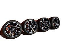 Genuine complete set of Rolls Royce Black Badge Wheels Alloys Dawn Wraith Ghost