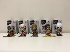 Lot Assassin's Creed Mystery Figures Complete Set of 5 Chase Thomas by Jazwares
