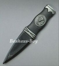 SGIAN DUBH DUMMY SAFETY THISTLE CREST ANTIQUE FINISH BUDGET KILT GENTS KILTWEAR