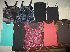 NWT Lot of 10 L Tops Daisy Fuentes Banana Republic GAP Old Navy LIMITED Ret$200+