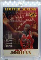 1997 97-98 Skybox Z-Force LIMITED ACCESS Michael Jordan #6LA, Insert RARE MJ