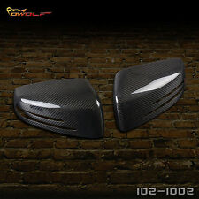 Carbon Fiber Mirror Covers for Mercedes Benz  W204 C250 C300 C350 C63 2010-2014