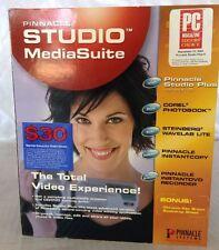 PINNACLE STUDIO 9 Media Suite Video Editing Software New