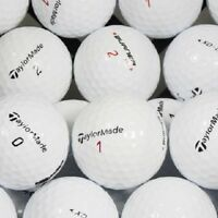 3 Dozen Taylormade Mix Golf Balls NO LOGOS Mint 5A - AAAAA + Free Poker Chip