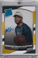 Marquez Valdes-Scantling 2018 Panini Rated Rookie Personal Edition Rc On Card...
