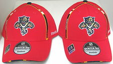 NHL Forida Panthers Red Pro Shaped Fitted Hat By Reebok