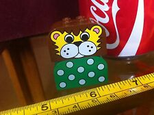 LEGO Lion Mni Figure Old Green Spotty Top Classic Original