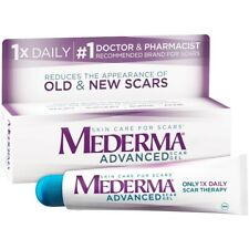 MEDERMA Advanced Scar Gel 0.70 oz Best By 10/2021 *NEW*