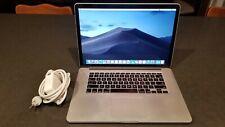 """Apple MacBook Pro MGXA2LL/A 15.4"""" (Mid 2014) i7 2.2GHz 16GB RAM 256GB SSD Mojave"""