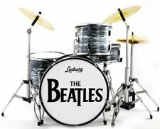 Miniature Drums Personalized Custom Wedding Cake Topper Table Display Double Blk