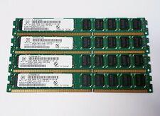 NETLIST NVD517T32507HD10I1SC 16GB (4GB x 4) 2Rx8 PC3-10600R ECC REG LP MEMORY