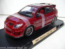 1/18 YatMing Pontiac Vibe GTR 2003 rotmetallic 92508