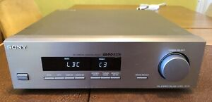 High End Sony ST-S1 FM AM Tuner La Scala 30 Station RDS EON - FULLY WORKING VGC