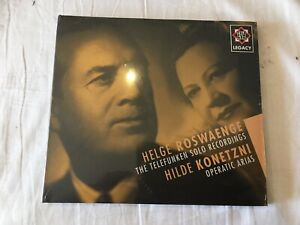 TELEFUNKEN LEGACY Helge Roswaenge Solo Recordings HILDE KONETZNI SEALED CD