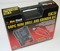 60pc Mini Rotary Drill Grinder Engraver Tool Set Craft Hobby - 2 Year Warranty