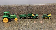 Ertl John Deere TOY LOT~Farm Gator~Riding Tractor~ Bonus Metal Farm Tractor