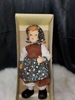 Vintage German Hummel Goebel Porcelain Doll Gretel needs