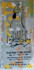 Russ Pope / Ben Horton 2002 signed Compound exhibition poster