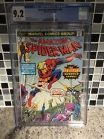 The Amazing Spider-Man #153 CGC 9.2 White Pages Newest Holder (Feb 1976, Marvel)