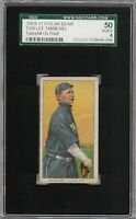 Rare 1909-11 T206 Lee Tannehill Polar Bear Back Chicago SGC 50 / 4 VG-EX