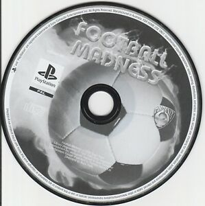 Ps1 Game - Football Madness (Disk Only)