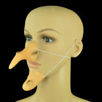 Funny Wicked Witch Nose And Chin Halloween Costume Decoration Gift Supplies HYAN