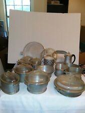 Guardian Service Cookware Set - 14 Piece with 9 Glass Lids