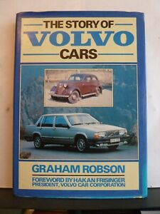 THE STORY OF VOLVO CARS - GRAHAM ROBSON Hardback 1983 1st