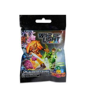 DC War of Light Foil Booster Pack - Dice Masters WizKids THG