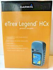 Garmin eTrex Legend HCx GPS Navigation Personal Handheld Color Display Navigator
