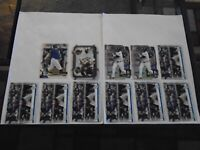 CLEVELAND INDIANS JOSH NAYLOR RC LOT X11 CARDS TOPS UPDATE US43 & BOWMAN LOOK!