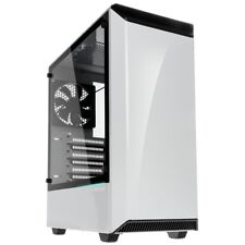 Phanteks Eclipse P300 Tempered Glass ATX Midi Tower Gaming PC Case White