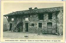 CARTOLINA d'Epoca ASTI provincia - Castelnuovo D'Asti