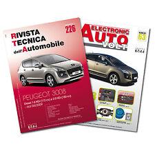 2 Manuali tecnici di riparazione, manutenzione e diagnosi auto - Peugeot 3008